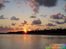 De zonsopgang ...